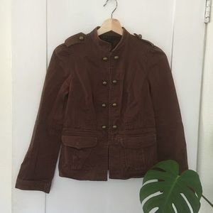 Marc Jacobs brown military style jacked